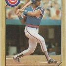 Jerry Mumphrey 1987 Topps #372 Chicago Cubs Baseball Card