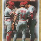 Cincinnati Reds 1987 Topps #281 Baseball Team Card