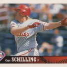 Curt Schilling 1997 Upper Deck Collector's Choice #197 Philadelphia Phillies Baseball Card
