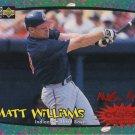 Matt Williams 1997 Upper Deck Collector's Choice Crash the Game Cleveland Indians Baseball Card
