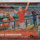 Jordan Zimmermann 2015 Topps #398 Washington Nationals Baseball Card