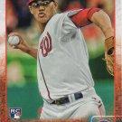 Joe Ross 2015 Topps Update Rookie #US267 Washington Nationals Baseball Card