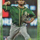 R.J. Alvarez 2015 Topps Update Rookie #US261 Oakland Athletics Baseball Card