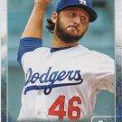 Mike Bolsinger 2015 Topps Update #US280 Los Angeles Dodgers Baseball Card