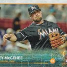 Casey McGehee 2015 Topps Update #US275 Miami Marlins Baseball Card