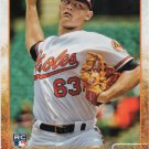 Tyler Wilson 2015 Topps Update Rookie #US3 Baltimore Orioles Baseball Card
