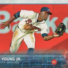 Eric Young Jr. 2015 Topps Update #US262 Atlanta Braves Baseball Card