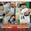 Scott Oberg-Deolis Guerra 2015 Topps Update Rookie #US312 Rockies-Pirates Baseball Card