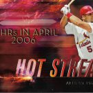 Albert Pujols 2015 Topps Hot Streak #H-19 St. Louis Cardinals Baseball Card