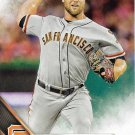Hunter Strickland 2016 Topps #196 San Francisco Giants Baseball Card