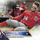 Bryce Harper 2016 Topps #100 Washington Nationals Baseball Card