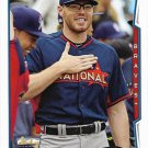 Freddie Freeman 2014 Topps Update #US264 Atlanta Braves Baseball Card