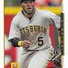 Josh Harrison 2014 Topps Update #US80 Pittsburgh Pirates Baseball Card