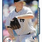 Chase Whitley 2014 Topps Update Rookie #US171 New York Yankees Baseball Card