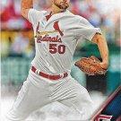 Adam Wainwright 2016 Topps #319 St. Louis Cardinals Baseball Card