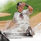 Melky Cabrera 2016 Topps #122 Chicago White Sox Baseball Card