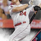 C.J. Cron 2016 Topps #37 Los Angeles Angels Baseball Card