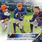Carlos Gomez-Carlos Correa-Jose Altuve 2016 Topps #170 Houston Astros Baseball Card