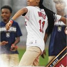 Mo'ne Davis 2016 Topps First Pitch #FP-4 Baseball Card