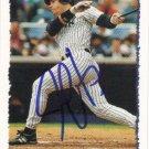 AUTOGRAPH: Jim Leyritz 1995 Topps #450 New York Yankees Baseball Card