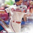 Cesar Hernandez 2016 Topps #421 Philadelphia Phillies Baseball Card