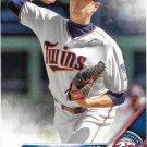 Kyle Gibson 2016 Topps #561 Minnesota Twins Baseball Card