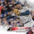 Didi Gregorius 2016 Topps #583 New York Yankees Baseball Card