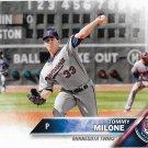 Tommy Milone 2016 Score #624 Minnesota Twins Baseball Card
