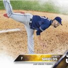 James Shields 2016 Score #541 San Diego Padres Baseball Card