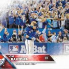 Jose Bautista 2016 Topps #96 Toronto Blue Jays Baseball Card