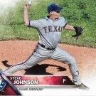 Steve Johnson 2016 Topps #516 Texas Rangers Baseball Card