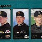 Bobby Bradley-Kurt Ainsworth-Chin-Hui Tsao Rookie 2001 Topps Rookie #367 Baseball Card