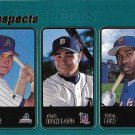 Jason Conti-Chris Wakeland-Brian Cole 2001 Topps Rookie #327 Baseball Card