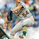 Sonny Gray 2016 Topps #4 Oakland Athletics Baseball Card
