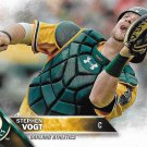 Stephen Vogt 2016 Topps #506 Oakland Athletics Baseball Card
