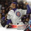 Aroldis Chapman 2016 Topps Update #US145 Chicago Cubs Baseball Card