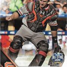 Buster Posey 2016 Topps Update #US141 San Francisco Giants Baseball Card