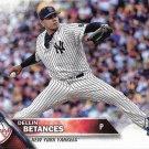 Dellin Betances 2016 Topps Update #US291 New York Yankees Baseball Card