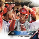 Aledmys Diaz 2016 Topps Update Rookie Debut #US44 St. Louis Cardinals Baseball Card