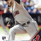 Shawn Morimando 2016 Topps Update Rookie #US85 Cleveland Indians Baseball Card