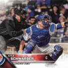Kyle Schwarber 2016 Topps Update Rookie Debut #US138 Chicago Cubs Baseball Card