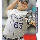 Rafael Betancourt 2014 Topps #139 Colorado Rockies Baseball Card