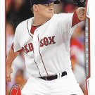 Jake Peavy 2014 Topps #307 Boston Red Sox Baseball Card