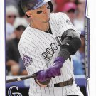 Troy Tulowitzki 2014 Topps #25 Colorado Rockies Baseball Card