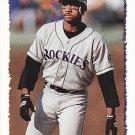 Ellis Burks 1995 Topps #235 Colorado Rockies Baseball Card
