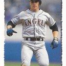 Chad Curtis 1995 Topps #154 California Angels Baseball Card
