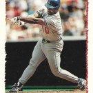 Chris Gwynn 1995 Topps #357 Los Angeles Dodgers Baseball Card