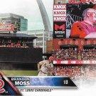 Brandon Moss 2016 Topps Update #US199 St. Louis Cardinals Baseball Card