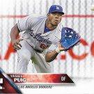 Yasiel Puig 2016 Topps #139 Los Angeles Dodgers Baseball Card