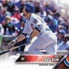 Matt Szczur 2016 Topps Update #US12 Chicago Cubs Baseball Card